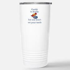 Candy is dandy Travel Mug