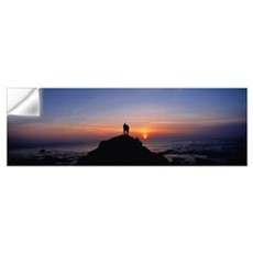 Sunset Giant's Causeway Ireland Wall Decal