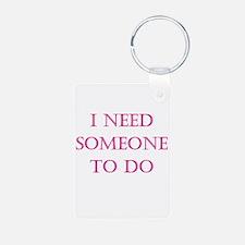 Someone to do Keychains
