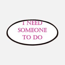 Someone to do Patches