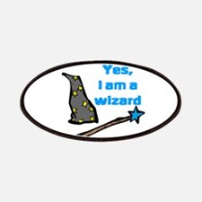 Yes, I am a wizard Patches