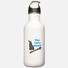 Yes, I am a wizard Sports Water Bottle