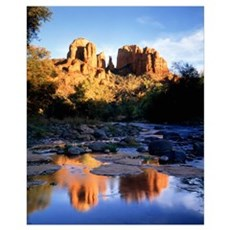Cathedral Rock Sedona AZ Poster