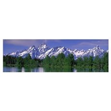 Grand Tetons National Park WY Framed Print