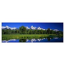 Teton Range Grand Teton National Park WY Poster