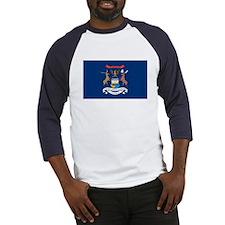 Michigan State Flag Baseball Jersey