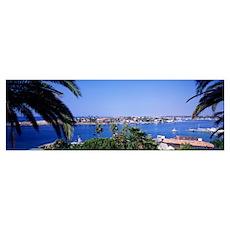 Balboa Island Newport Beach CA Poster