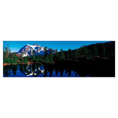 Mount Shuksan North Cascades National Park WA Poster