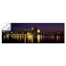 Night Louisville KY Wall Decal