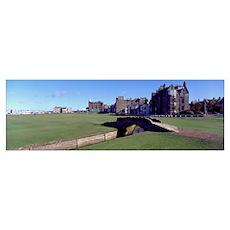 Royal Golf Club St Andrews Scotland Poster