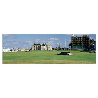 Silican Bridge Royal Golf Club St Andrews Scotland Poster