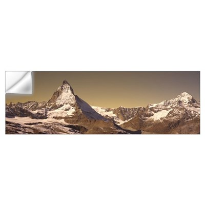 Matterhorn Switzerland Wall Decal
