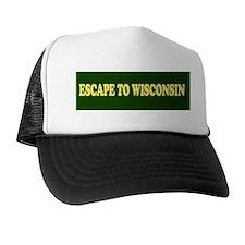 Escape to Wisconsin Trucker Hat