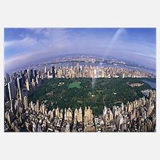 Aerial Central Park New York NY