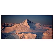 Mt Aspiring South Island New Zealand Poster