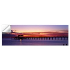 Sunset Mobile Pier AL Wall Decal