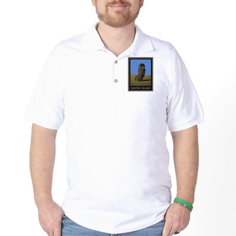 Easter Island Moai Golf Shirt