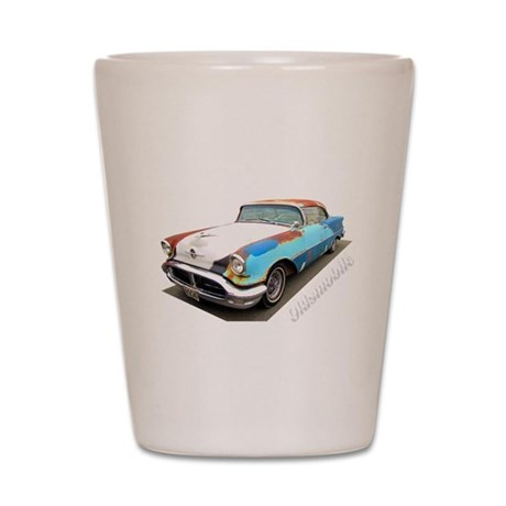 1956 Olds! Shot Glass