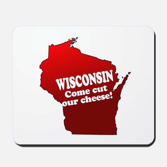Come Cut Our Cheese Mousepad