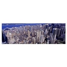 Midtown Manhattan New York NY Framed Print