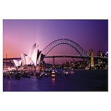 Opera House Harbour Bridge Sydney Australia