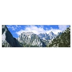 Mount Whitney Owens Valley CA Poster