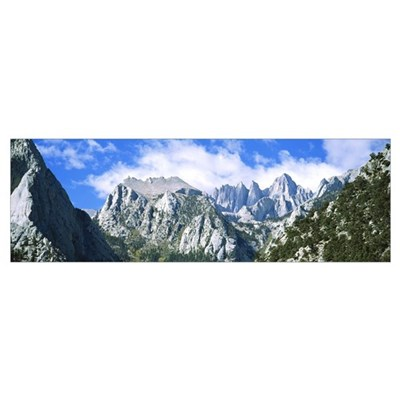 Mount Whitney Owens Valley CA Framed Print