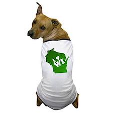 I heart Wisconsin Dog T-Shirt