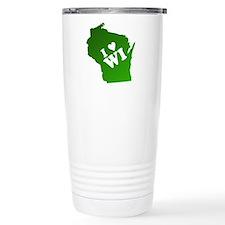 I heart Wisconsin Travel Mug