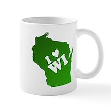 I heart Wisconsin Mug