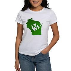 I heart Wisconsin Tee
