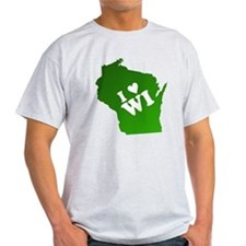I heart Wisconsin T-Shirt