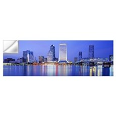 Night Jacksonville FL Wall Decal