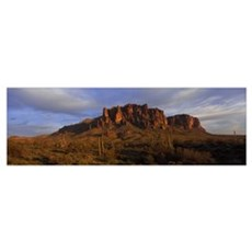 Superstition Mountains Lost Dutchman State Park AZ Framed Print