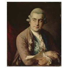 Johann Christian Bach, 1776 (oil on canvas) Poster
