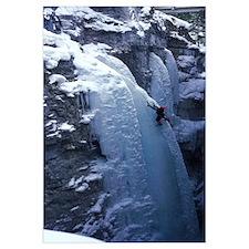 Ice Climber Marble Canyon Kootenay National Park B