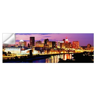 St Paul MN Wall Decal