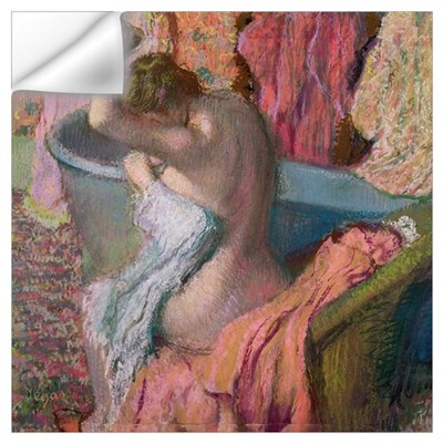 Seated Bather, 1899 (pastel on paper) Wall Decal