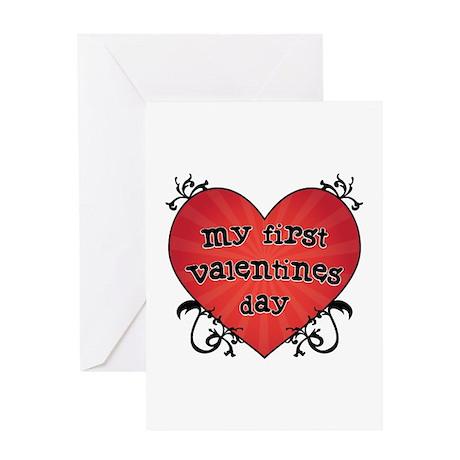 Tattoo Heart 1st Valentines Greeting Card
