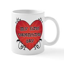 Tattoo Heart 1st Valentines Mug