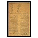 Constitution Wrapped Canvas Art
