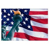 Statue of liberty Wrapped Canvas Art