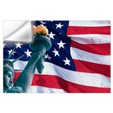Statue of liberty Wall Decals