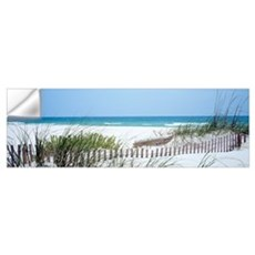 Fence Beach AL Wall Decal