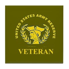 Army Reserve Veteran Tile Coaster