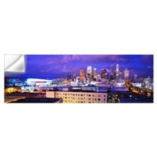California, Los Angeles, High angle view of the ci Wall Decal