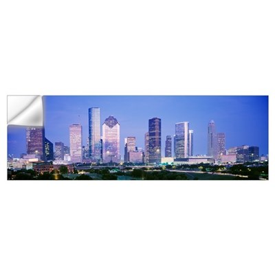 Houston TX Wall Decal