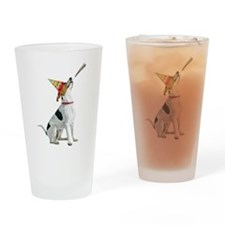 Foxhound Birthday Drinking Glass