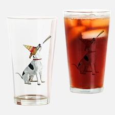 Foxhound Birthday Drinking Glass