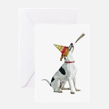 Foxhound Birthday Greeting Card